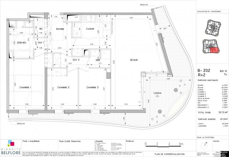 Appartement T4 - R+2 - LOT B202 - Biarritz Belfore - Biarritz ... f55bd82c5cb