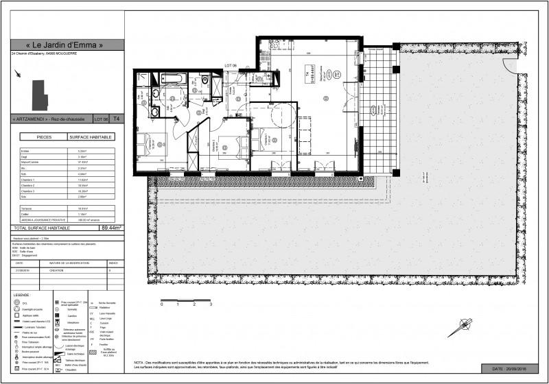 Appartement T4 - RDC - LOT A006 - Les Jardins d Emma - Mouguerre ... 95416cf4b3d