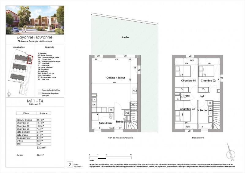 Maison T4 - RDC Surface   83 m². Ville   Bayonne Département   Pyrenees- Atlantiques (64). M11 - Bakarra acad6aa110c