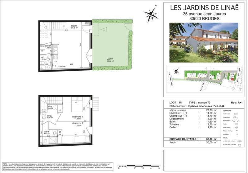 Plan Maison R 1 100M2. Avis Plan Maison Tages Environ M Par Tage
