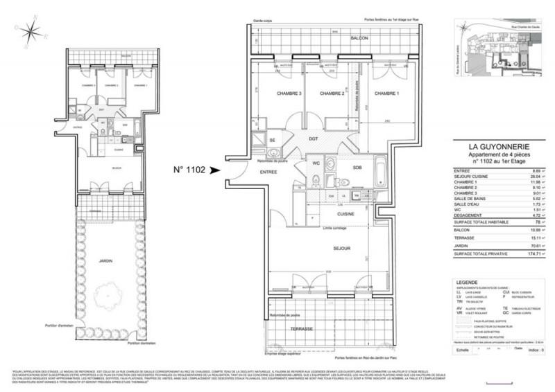 Appartement t4 r 1 lot lot 1102 grand coeur bures for Plan bures sur yvette