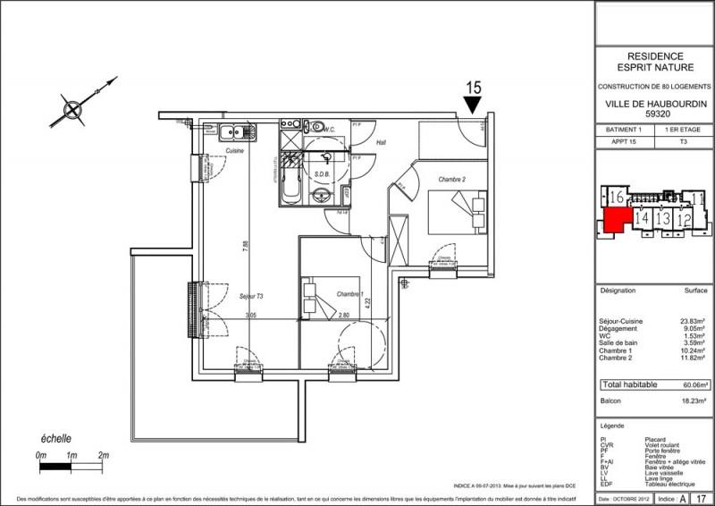 appartement t3 r 1 lot a15 r sidence esprit nature haubourdin nord supinvest. Black Bedroom Furniture Sets. Home Design Ideas