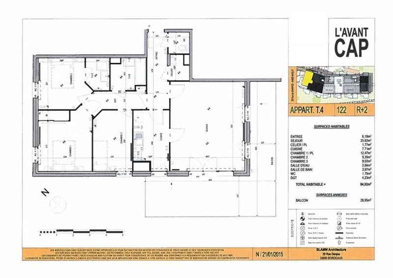 Appartement T4 - R+2 - LOT n°122 - L Avant Cap - Anglet - Pyrenees ... 816e3ba1205