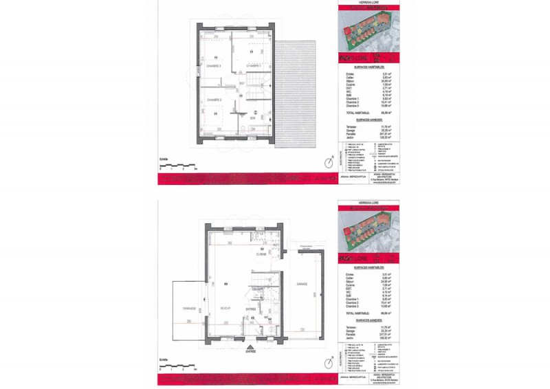 Maison T4 - RDC R+1 - LOT Lot 102 - Herrixka Lore - Villefranque ... 6a13869159b