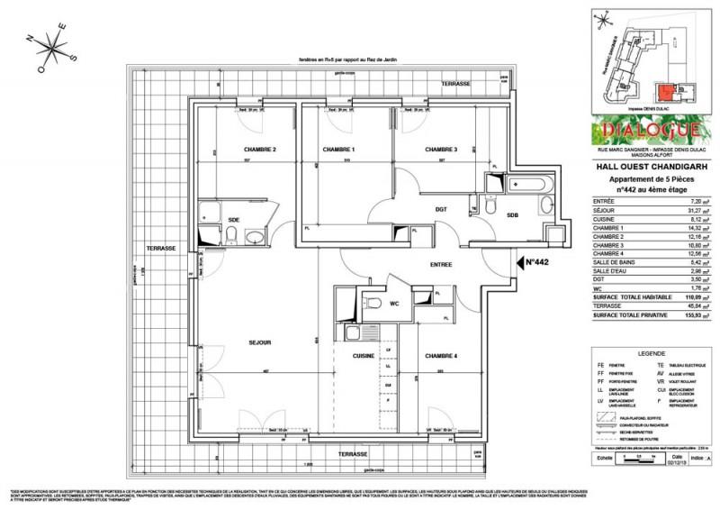 Appartement T5 R 4 Lot N 442 Dialogue Maisons Alfort Val De Marne Supinvest