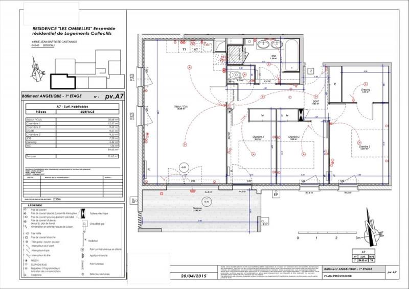 Appartement T4 - R+1 - LOT A007 - Les Ombelles - Boucau - Pyrenees ... 82c62ebbb1c